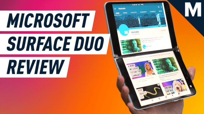 Hands-on with the Microsoft Surface Duo