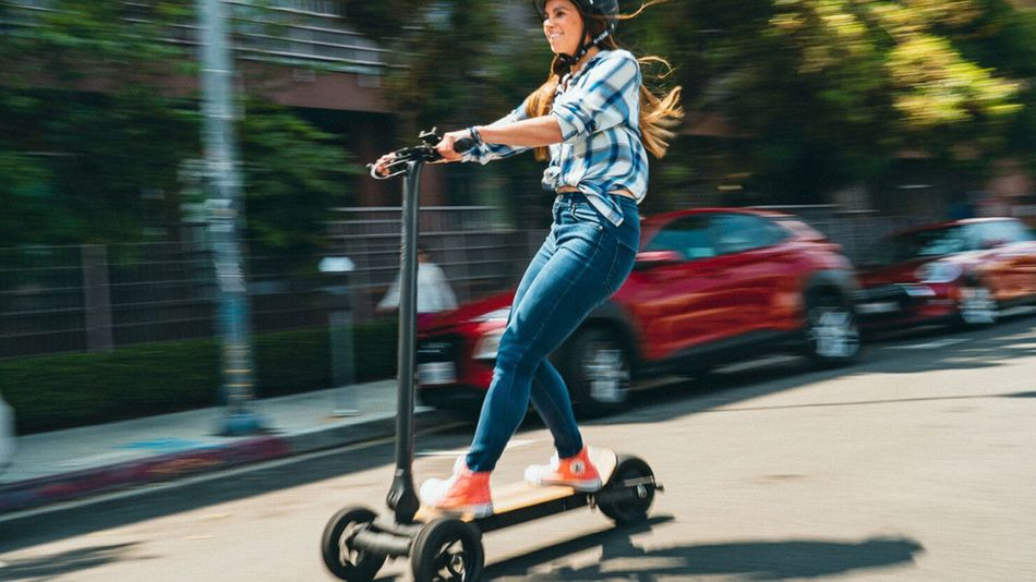 Faster than walking, more eco-friendly than driving.
