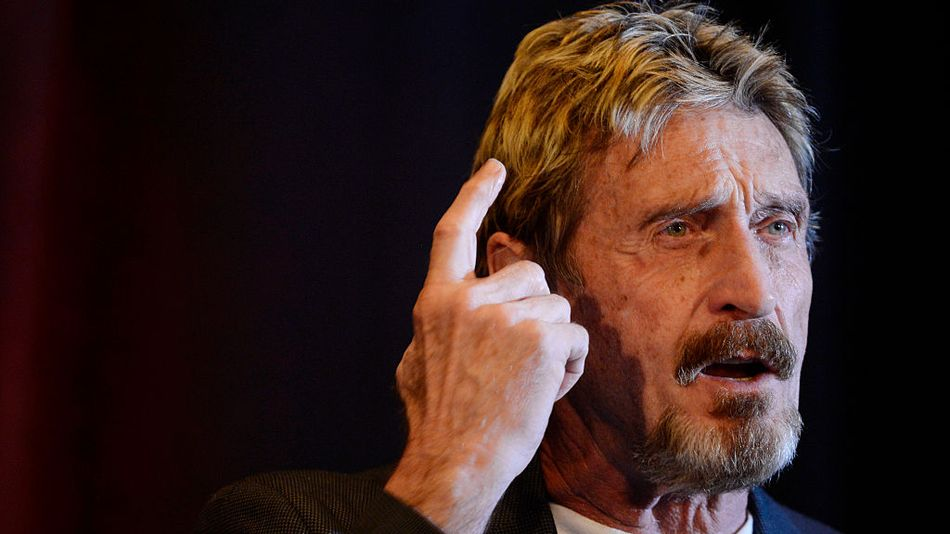 'Security expert' John McAfee expertly plotted alleged crimes over Twitter DMs