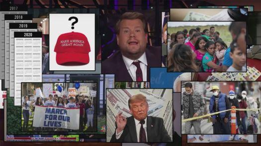 Late night hosts do grim rapid-fire summaries of Trump's last 4 years 2