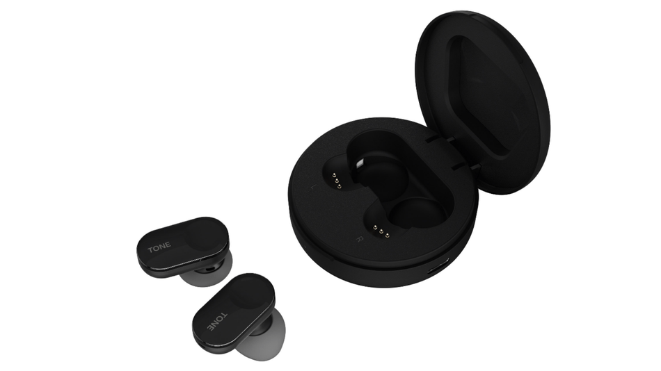 LG's Tone Free wireless earbuds come with a case that kills bacteria