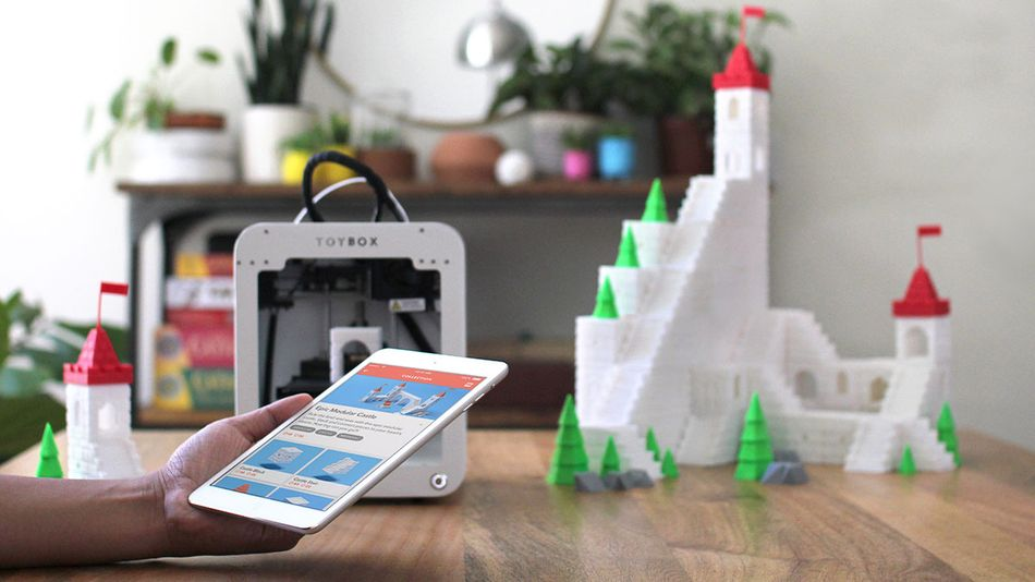 Print your own toys, figurines, vessels, and more.