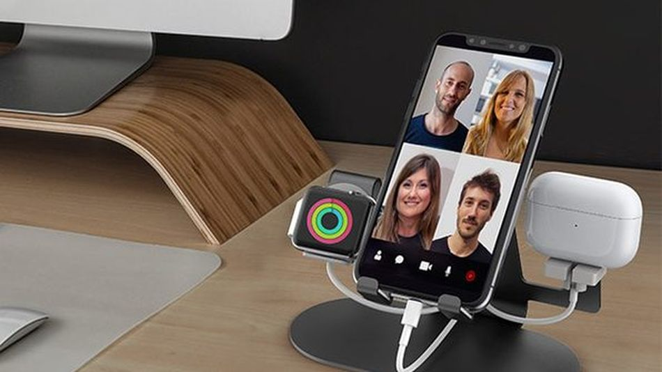 Charge all your devices with one stand.