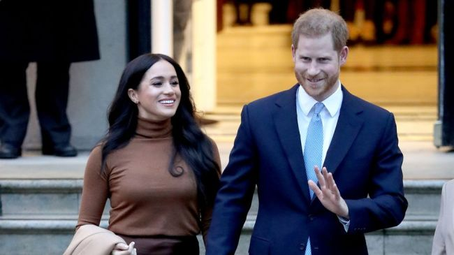 Queen Elizabeth II officially blesses Harry and Meghan's royal exit