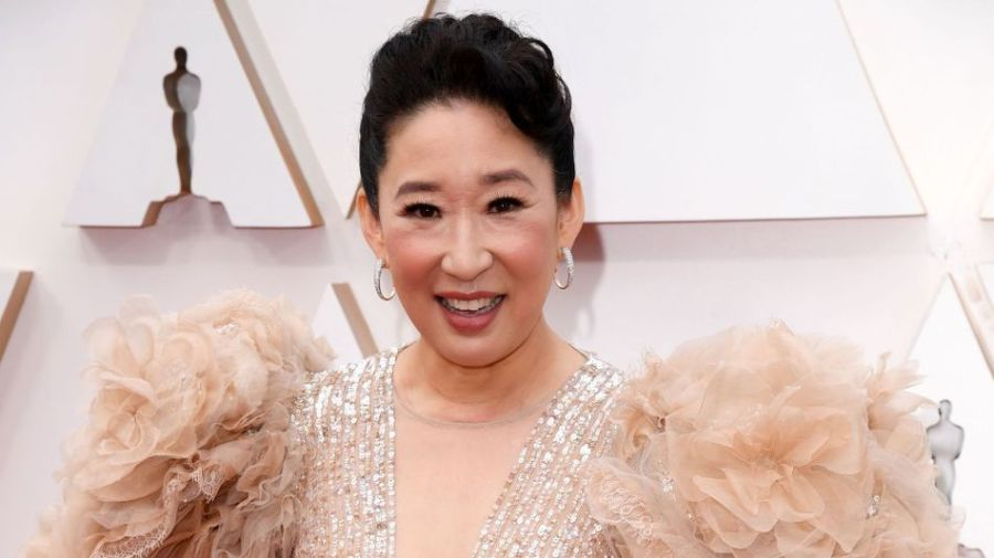 Sandra Oh at Pittsburgh protest against Asian hate: 'I belong here'