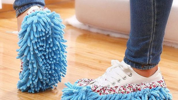 Gadgets: These mop slippers help you keep your floors sparkling clean as you walk.