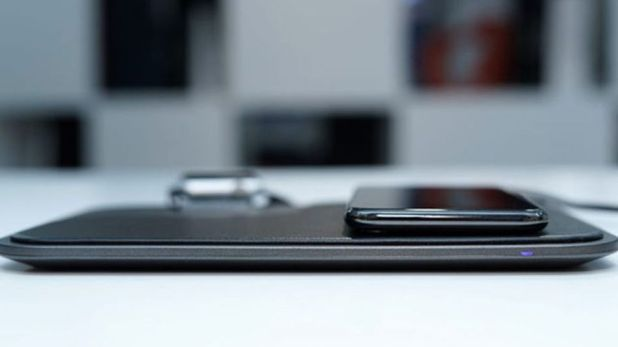 Gadgets: The Moovy wireless charging station can charge up to three devices at the same time.