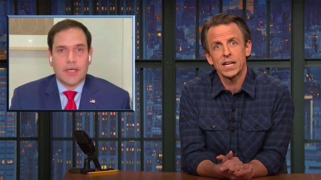 Seth Meyers lambasts Republicans trying to squirm out of impeaching Trump