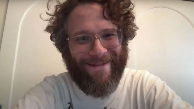Seth Rogen's Zoom prank is the perfect way to start any video call