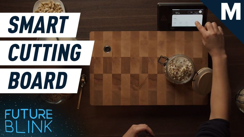 Track your food with this scanning, weight-sensing cooking board — Future Blink