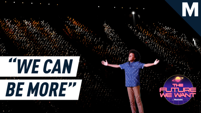 A 15-year-old poetry slam champion harnesses the voice of his generation to call for systemic change