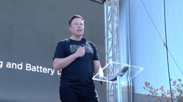 Cars: Elon Musk talks batteries.