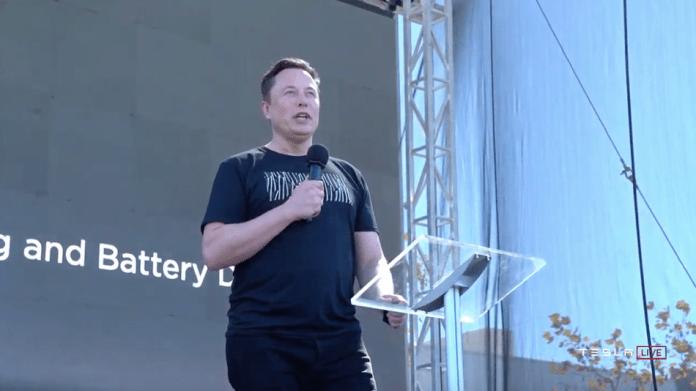 Elon Musk talks batteries.