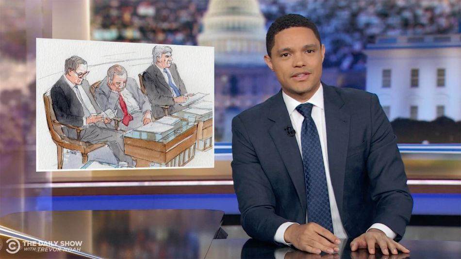 Trevor Noah has a genius method to help senators stay awake during Trump's impeachment trial