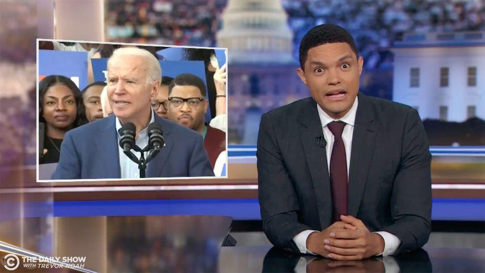 Trevor Noah rounds up 24 hours of cringey Joe Biden gaffes