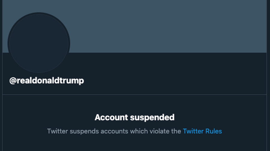 Twitter permanently suspends Donald Trump's account