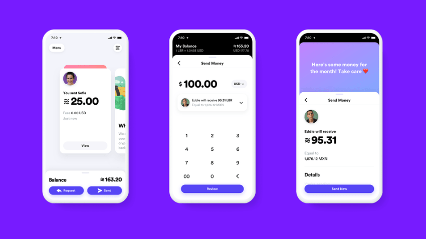 A first look at Calibra, Facebook's Libra wallet.