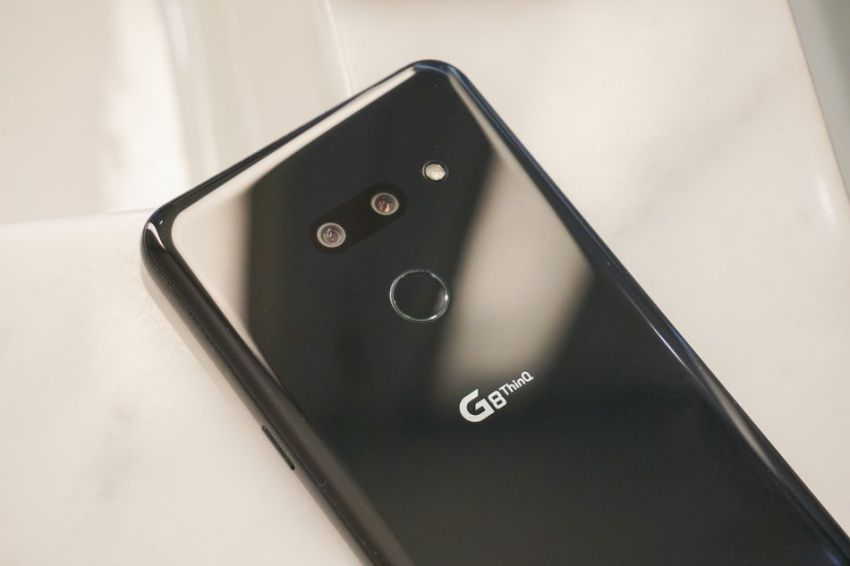 The LG G8 ThinQ is one of the few phones with a full body camera.