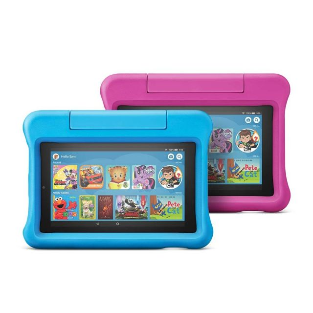 Fire 7 Kids Edition tablet 2-packs are $50 off on Amazon