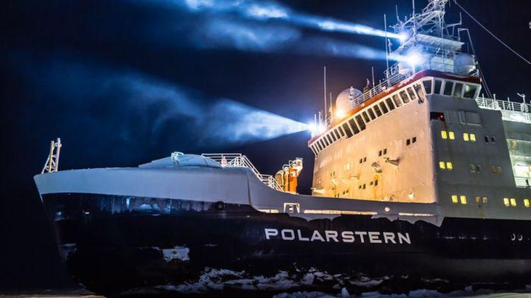 The German research icebreaker Polarstern.