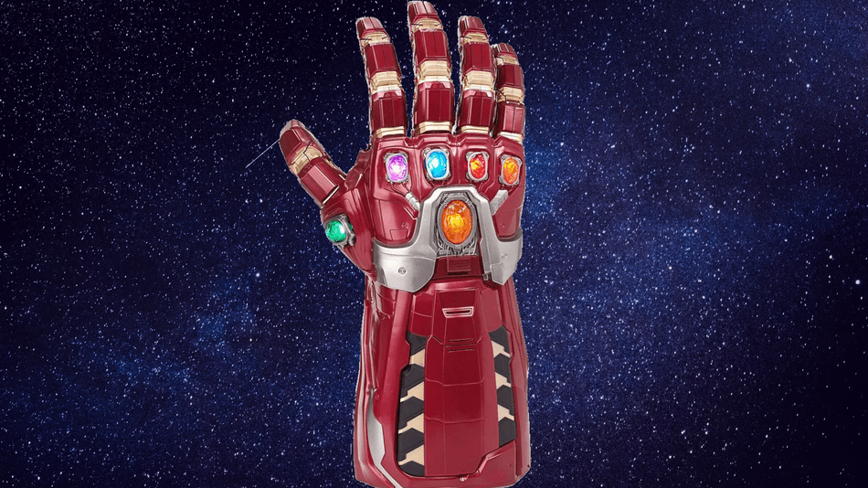 The Infinity Gauntlet that everyone freaked over is half off on Amazon