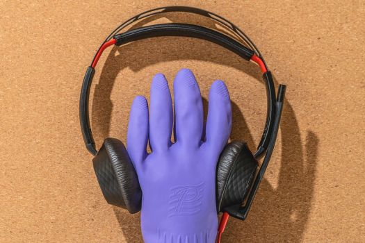 Your on-ear headphones need to be sterilized, too.