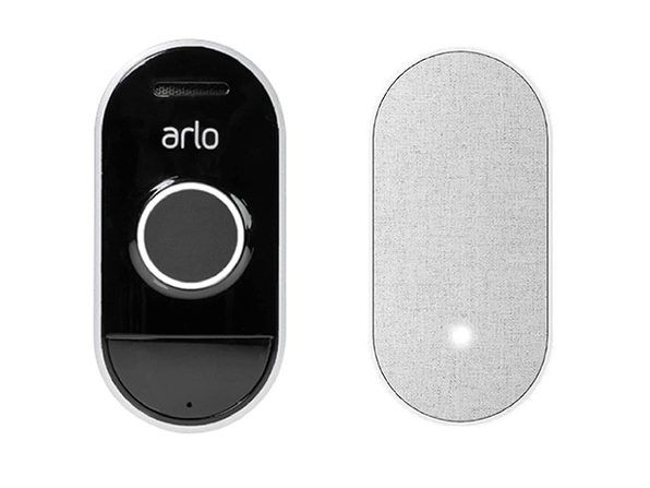 Save 30% on an Arlo video doorbell with a customizable chime