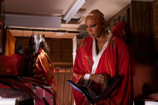 RuPaul in the one and only season of Netflix's 'AJ & The Queen'