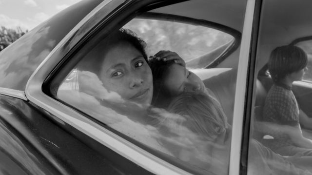 Yalitza Aparicio as Cleo, a housekeeper in the moving film