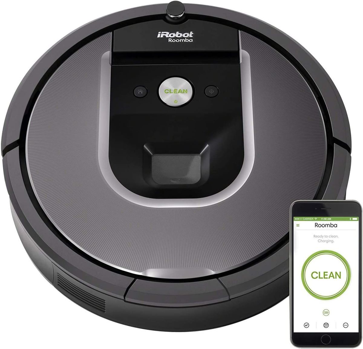 Save $120 on a renewed Roomba 960 at Amazon