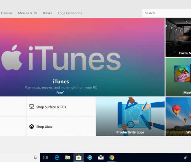 Windows 10 S Users Can Finally Use Itunes