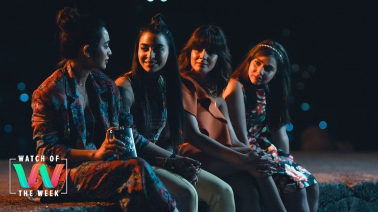 Sayani Gupta, Gurbani, Kirti Kulhari, and Maanvi Gabroo on Amazon India's 'Four More Shots Please.'