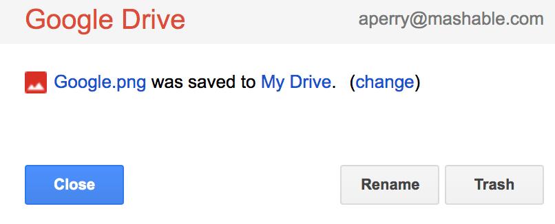 أرسل لقطات شاشة إلى Google Drive على الفور باستخدام هذا الامتداد.
