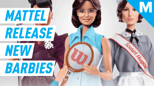 Barbie's Inspiring Women Series has made dolls for Ella Fitzgerald, Bille Jean King, and Florence Nightingale