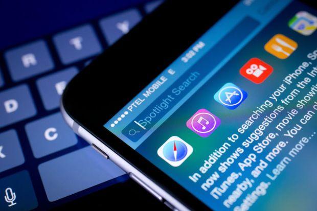 Spotlight meta search on iOS