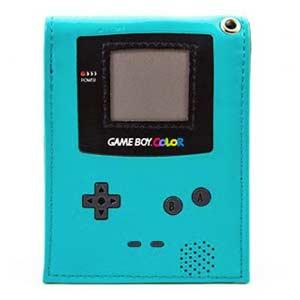 Cartera Game Boy azul