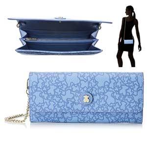 Cartera Tous azul