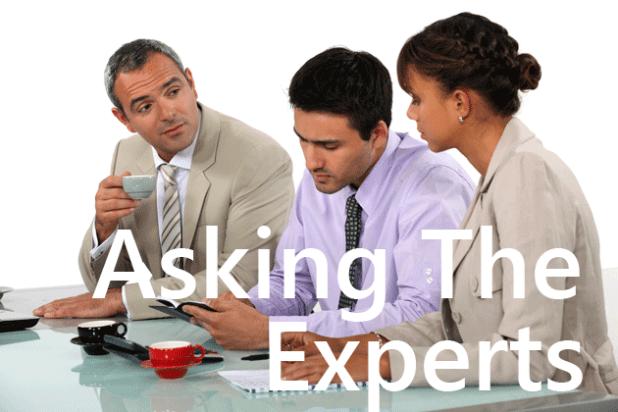 perceived as an expert