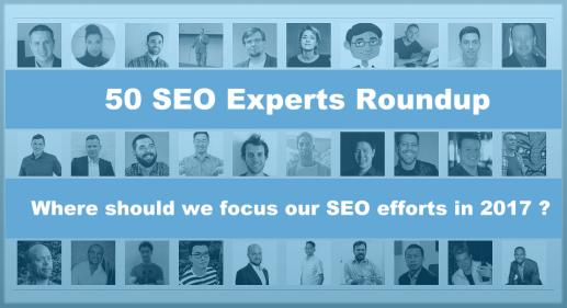 50 SEO Experts Roundup