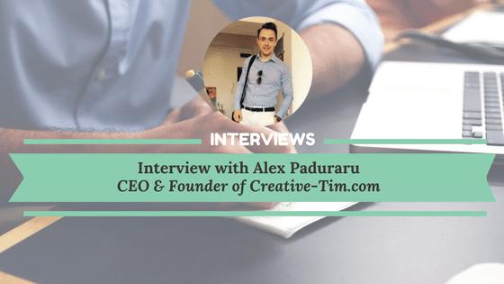 Interview of Alex Paduraru