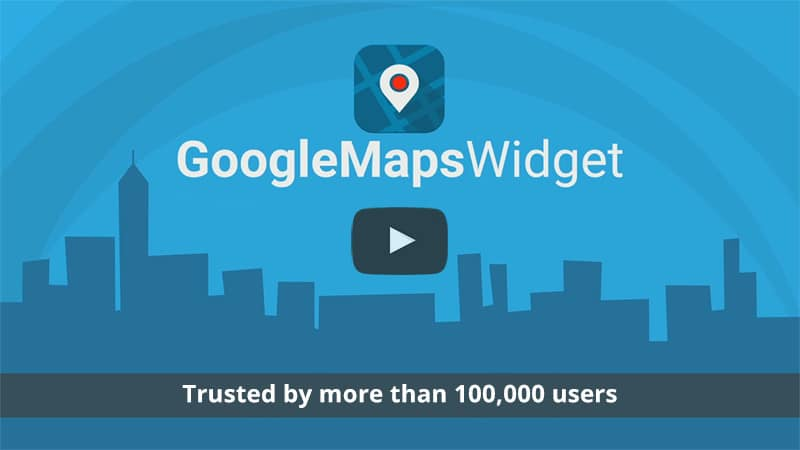 Google Maps Widget PRO – 30% Discount