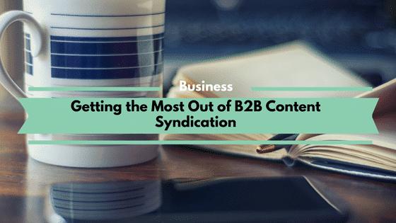 B2B Content Syndication