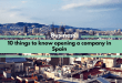 10 things to know opening a company in Spain