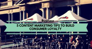 Content marketing consumer loyalty