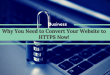 Why You Need to Convert Your Website to HTTPS Now!