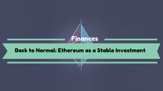 Ethereum as a Stable Investment