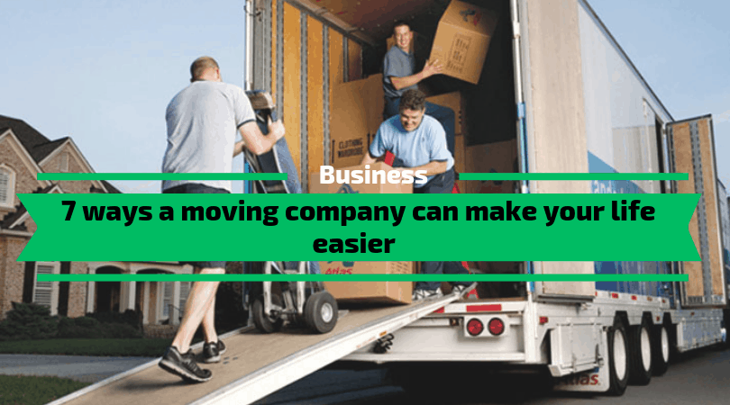 Moving company can make your life easier