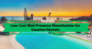 Low-Cost Web Presence Monetization for Vacation Rentals