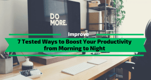 Ways to Boost Your Productivity