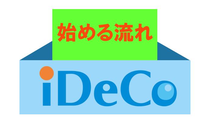 iDeCoの始める流れ